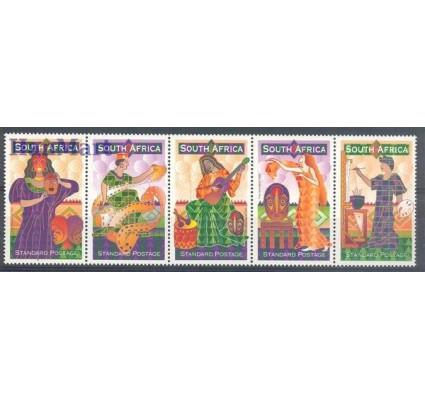 Znaczek Republika Południowej Afryki 1999 Mi 1210-1214 Czyste **