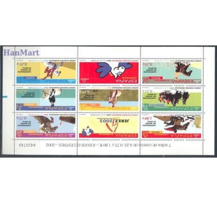 Znaczek Hiszpania 2002 Mi ark 3743-3749 Czyste **