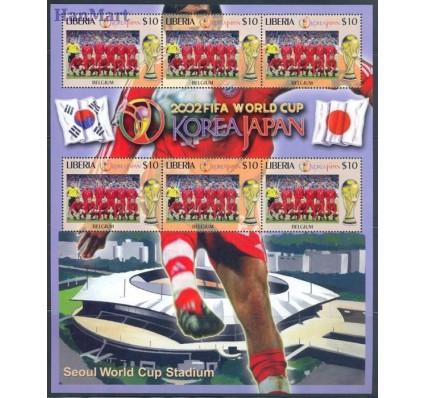 Znaczek Liberia 2002 Mi ark 4575 Czyste **