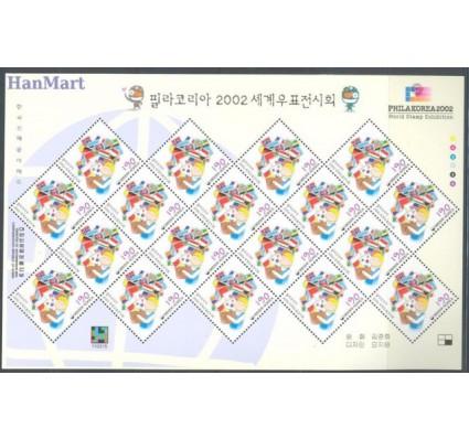 Znaczek Korea Południowa 2002 Mi 2253-2254 Czyste **