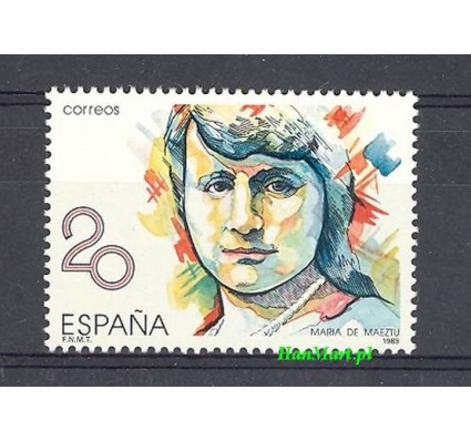 Znaczek Hiszpania 1989 Mi 2870 Czyste **