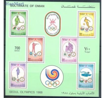 Znaczek Oman 1988 Mi bl 4 Czyste **