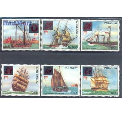 Znaczek Paragwaj 1989 Mi 4364-4369 Czyste **