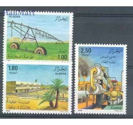 Znaczek Algieria 1989 Mi 992-994 Czyste **