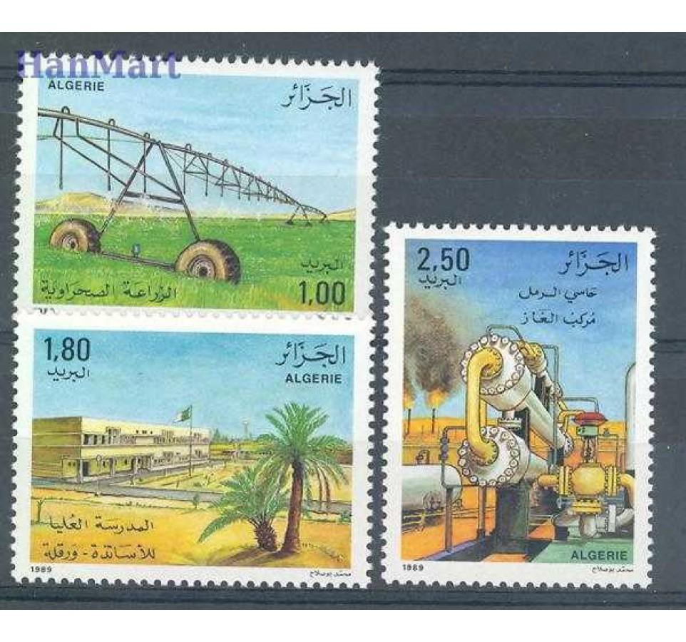 Algieria 1989 Mi 992-994 Czyste **