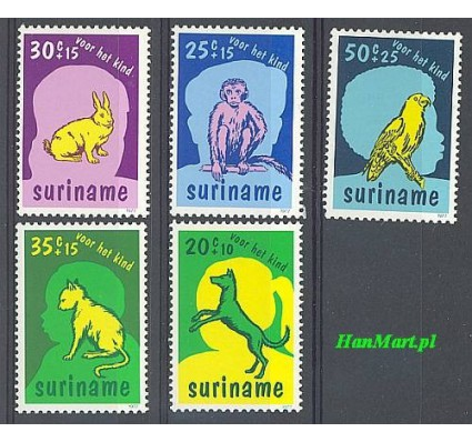 Surinam 1977 Mi 794-798 Czyste **