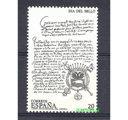 Znaczek Hiszpania 1989 Mi 2880 Czyste **