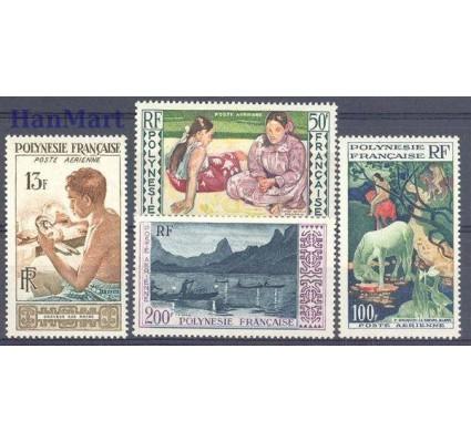 Znaczek Polinezja Francuska 1958 Mi 10-13 Czyste **