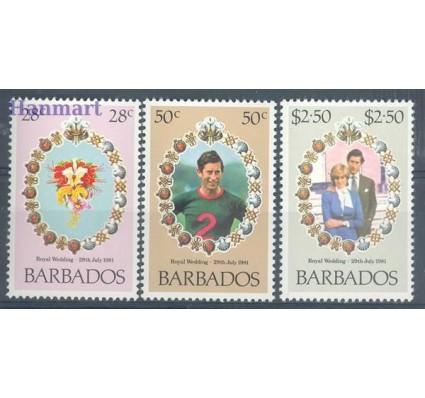 Znaczek Barbados 1981 Mi 527-529 Czyste **