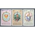Barbados 1981 Mi 527-529 Czyste **