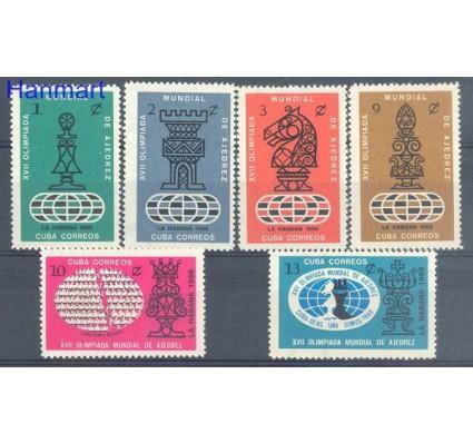 Znaczek Kuba 1966 Mi 1215-1220 Czyste **