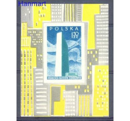Znaczek Polska 1957 Mi bl 20 Fi bl 19 Czyste **