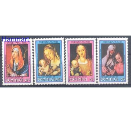 Dominika 1986 Mi 993-996 Czyste **