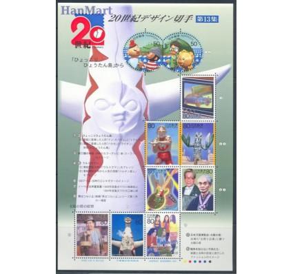 Znaczek Japonia 2000 Mi ark 3018-3027 Czyste **