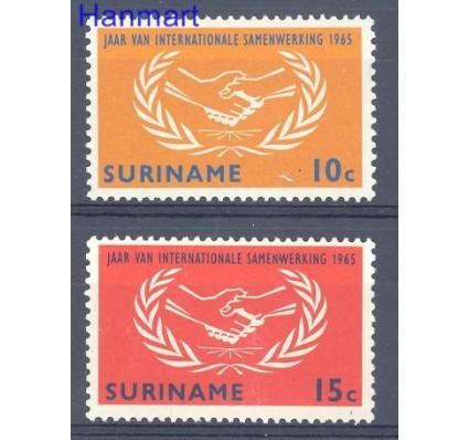 Znaczek Surinam 1965 Mi 460-461 Czyste **