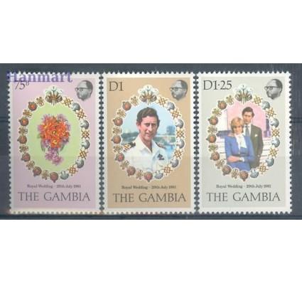 Znaczek Gambia 1981 Mi 424-426 Czyste **