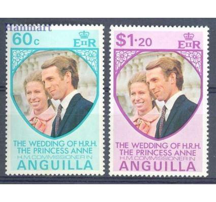 Znaczek Anguilla 1973 Mi 178-179 Czyste **