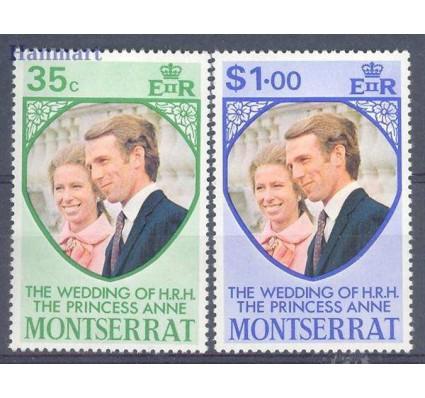 Znaczek Montserrat 1973 Mi 299-300 Czyste **