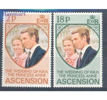 Znaczek Wyspa Wniebowstąpienia 1973 Mi 177-178 Czyste **