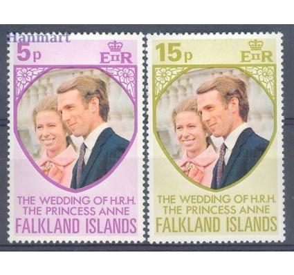 Znaczek Falklandy 1973 Mi 220-221 Czyste **