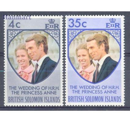 Znaczek Wyspy Salomona 1973 Mi 246-247 Czyste **