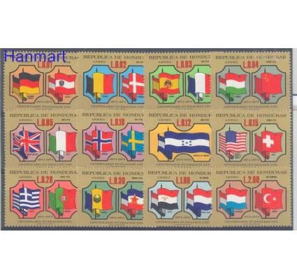 Znaczek Honduras 1975 Mi 842-853 Czyste **