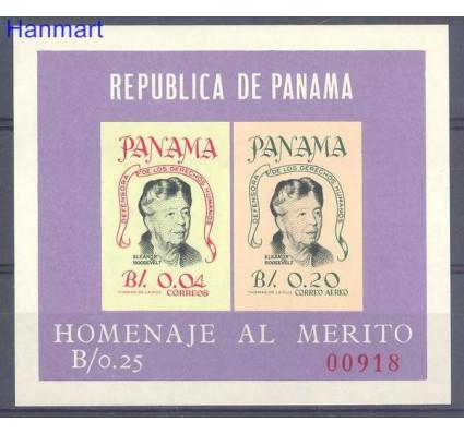Znaczek Panama 1964 Mi bl 25 Czyste **