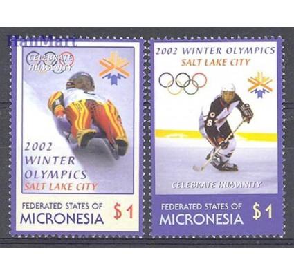 Znaczek Mikronezja 2002 Mi 1286-1287 Czyste **