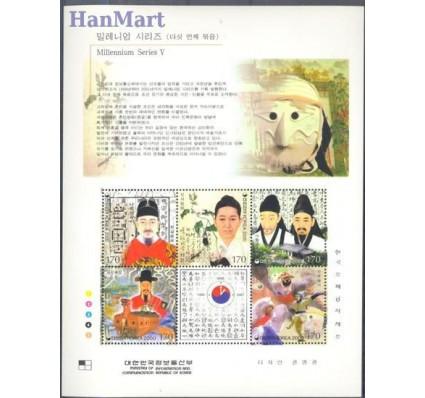 Znaczek Korea Południowa 2000 Mi bl 672 Czyste **