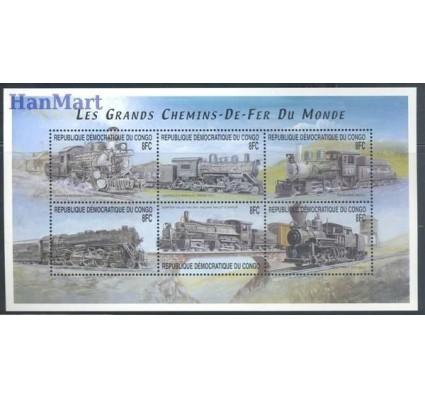 Znaczek Kongo Kinszasa / Zair 2001 Mi 1545-1550 Czyste **