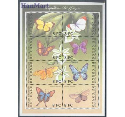 Znaczek Kongo Kinszasa / Zair 2001 Mi ark A1661-H1661 Czyste **