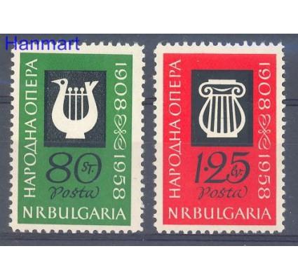 Bułgaria 1960 Mi 1139-1140 Czyste **