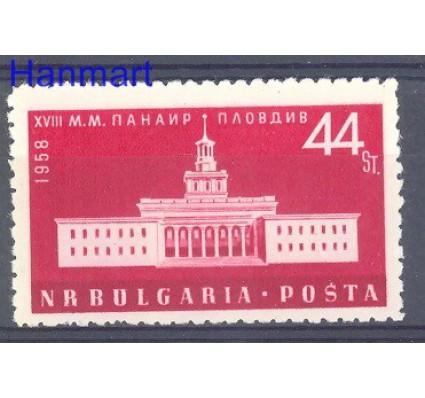 Znaczek Bułgaria 1958 Mi 1075 Czyste **