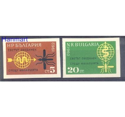 Znaczek Bułgaria 1962 Mi 1308-1309B Czyste **