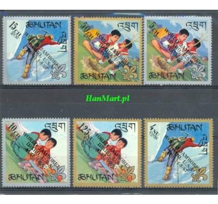 Bhutan 1967 Mi 155-160 Czyste **