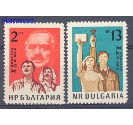 Znaczek Bułgaria 1963 Mi 1375-1376 Czyste **
