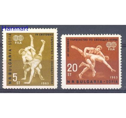Znaczek Bułgaria 1963 Mi 1383-1384 Czyste **