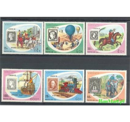 Znaczek Laos 1990 Mi 1200-1205 Czyste **