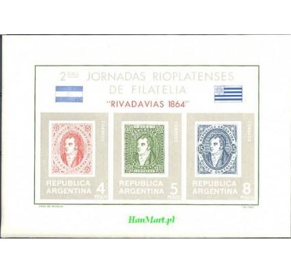 Argentyna 1966 Mi bl 16 Czyste **