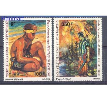 Nowa Kaledonia 1983 Mi 726-727 Czyste **