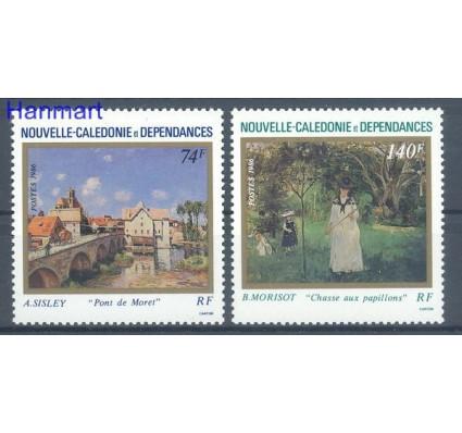 Znaczek Nowa Kaledonia 1986 Mi 795-796 Czyste **