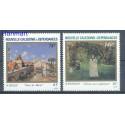 Nowa Kaledonia 1986 Mi 795-796 Czyste **