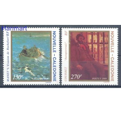 Znaczek Nowa Kaledonia 1989 Mi 863-864 Czyste **