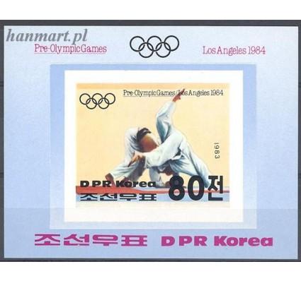 Znaczek Korea Północna 1983 Mi bl 142B Czyste **