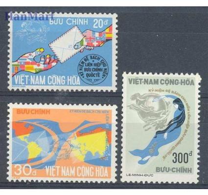 Znaczek Wietnam Południowy 1974 Mi 572-574 Czyste **