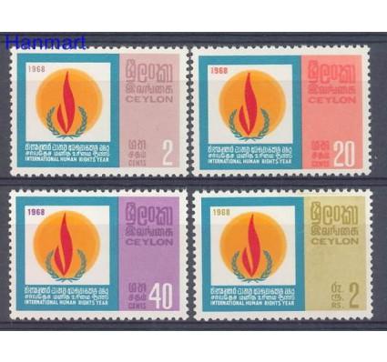 Znaczek Cejlon 1968 Mi 374-377 Czyste **