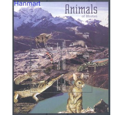 Znaczek Bhutan 2003 Mi 2359-2364 Czyste **