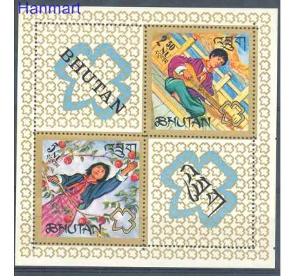 Znaczek Bhutan 1967 Mi bl 9 Czyste **