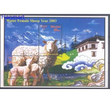 Znaczek Bhutan 2003 Mi bl 466 Czyste **