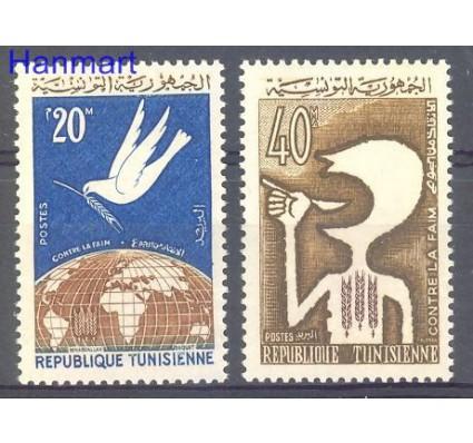 Znaczek Tunezja 1963 Mi 620-621 Czyste **